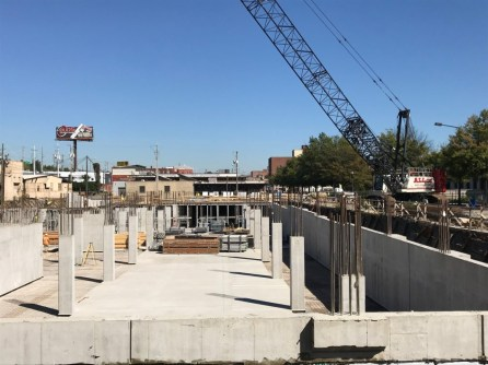 Regas Square Construction 1