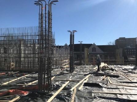 Regas Square Construction 2